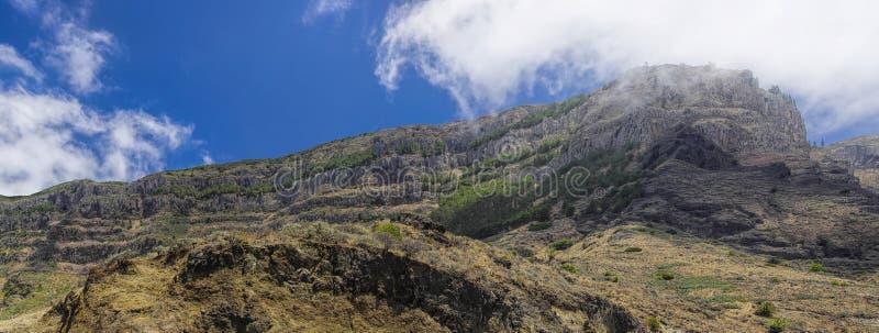 La Gomera, Canary Islands. Rural landscape near Taguluche village, La Gomera, Canary Islands royalty free stock image