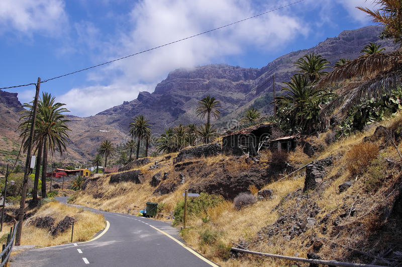 La Gomera, Canary Islands royalty free stock image