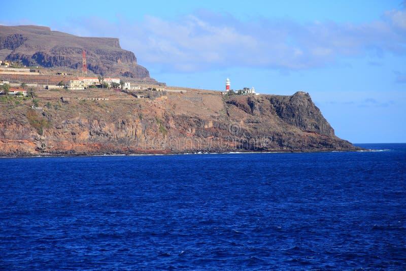 La gomera in Canary Islands, Spain. Beauty landscape from la gomera in Canary Islands, Spain stock photography