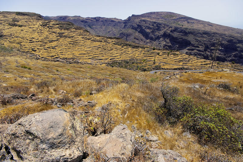 La Gomera, Canary Islands, Spain. royalty free stock photography