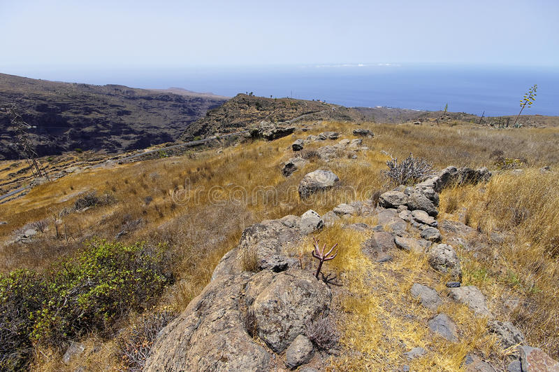 La Gomera, Canary Islands, Spain. stock images