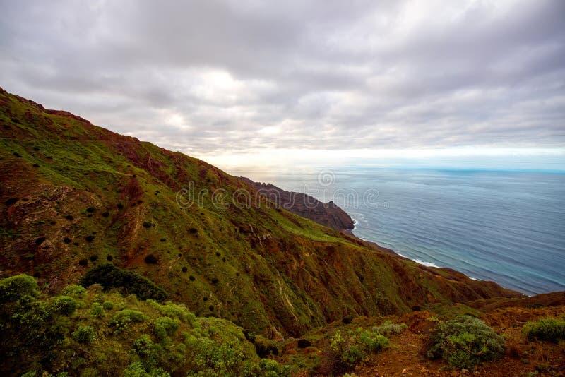 La Gomera coastline royalty free stock images