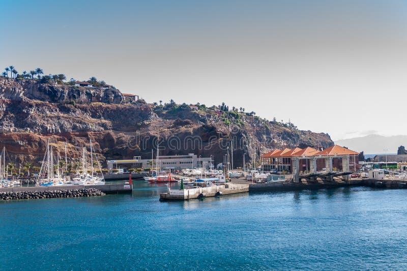 La Gomera Island. La Gomera, Canary Islands, Spain royalty free stock image