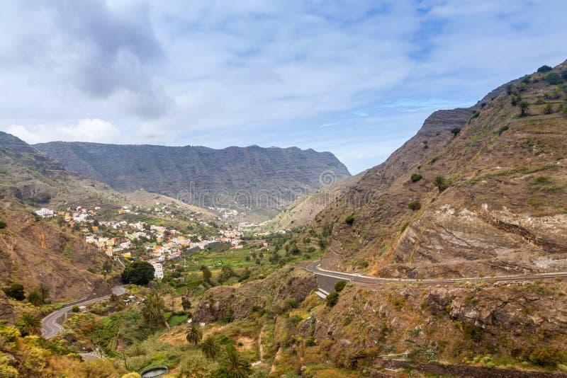 La Gomera Island. La Gomera, Canary Islands, Spain royalty free stock photos