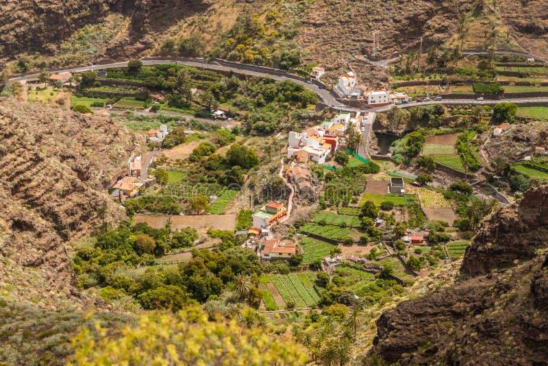 La Gomera Island. La Gomera, Canary Islands, Spain stock photo