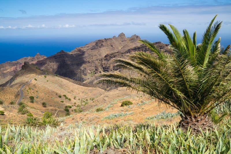 La Gomera Panorama royalty free stock images