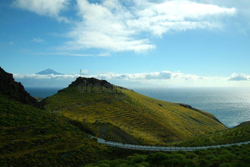 La Gomera, Tenerife royalty free stock image