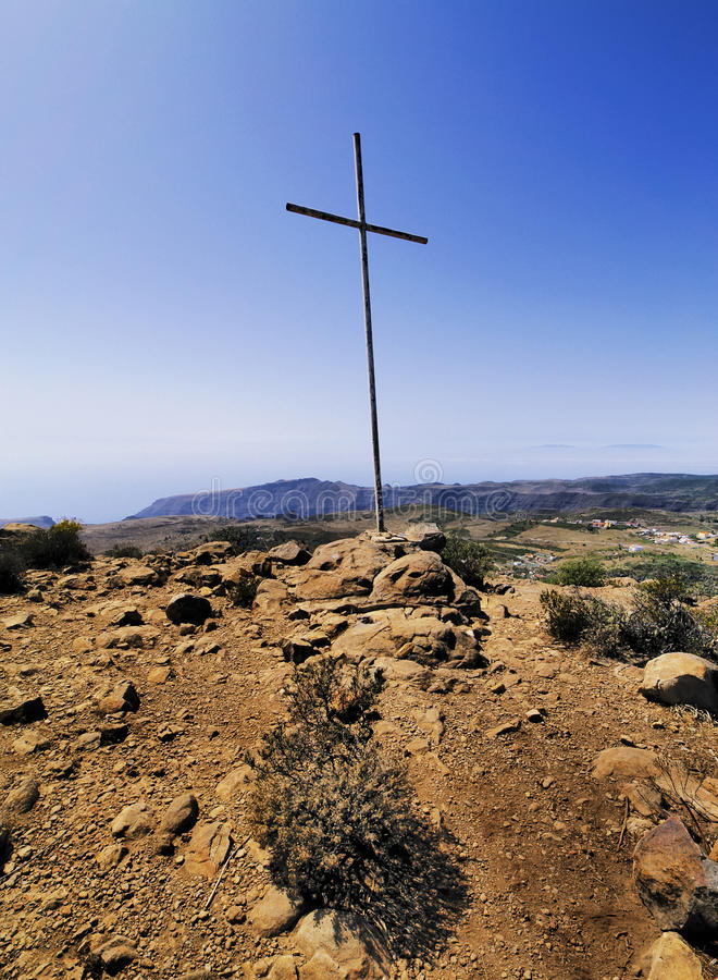 La Gomera royalty free stock photography