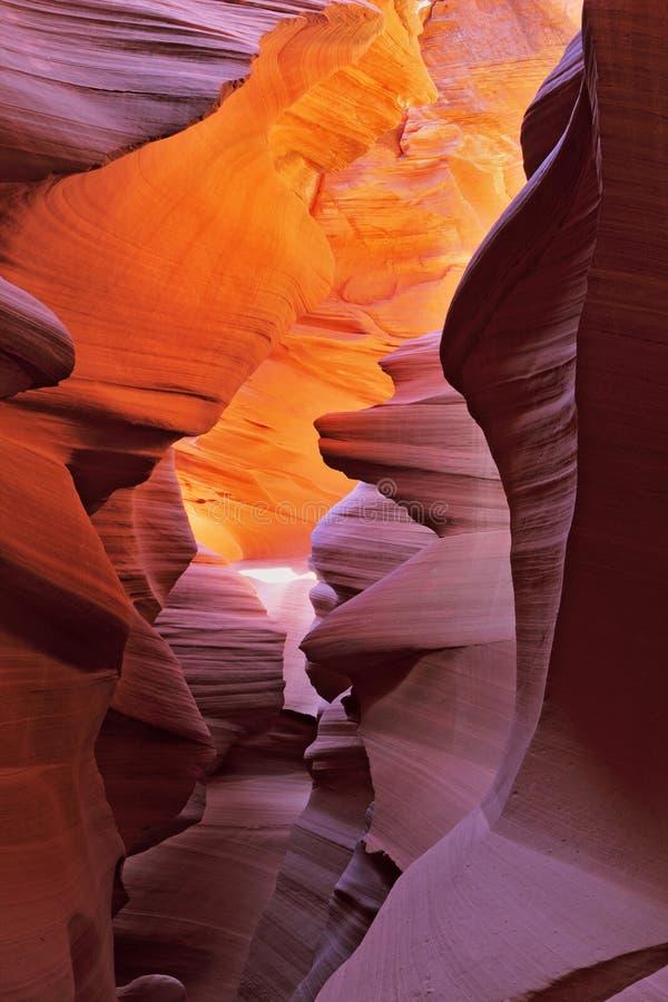 La gorge d'antilope dans la réservation de Navajo photographie stock