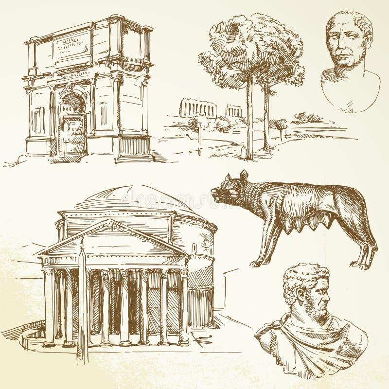 La Grèce antique illustration stock