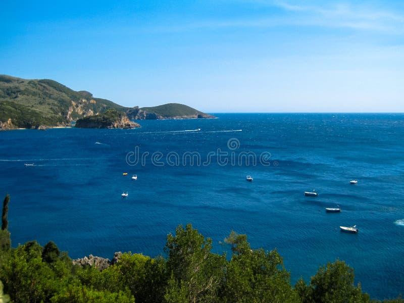 La Grèce et ses mers images libres de droits