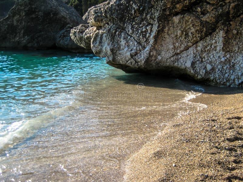 La Grèce et ses plages photos libres de droits