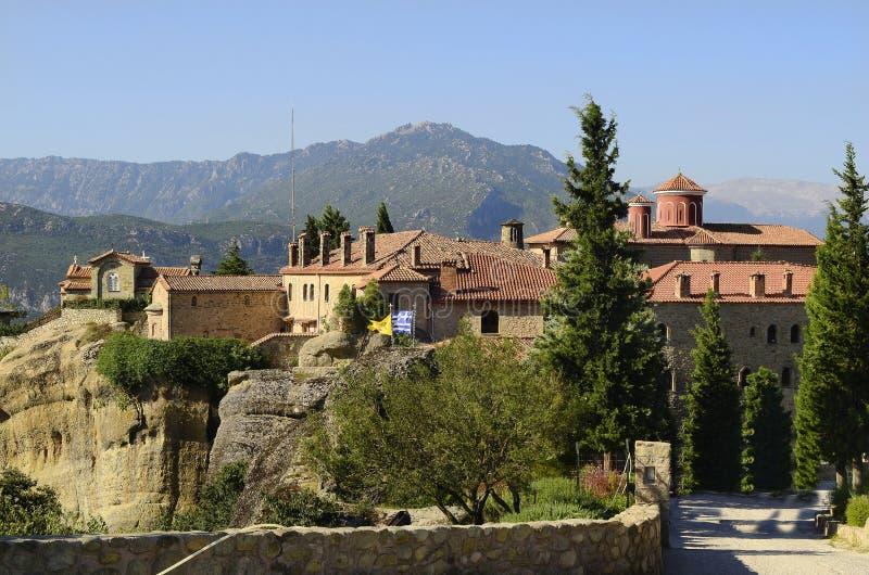 La Grèce, monastère de Meteora photo stock