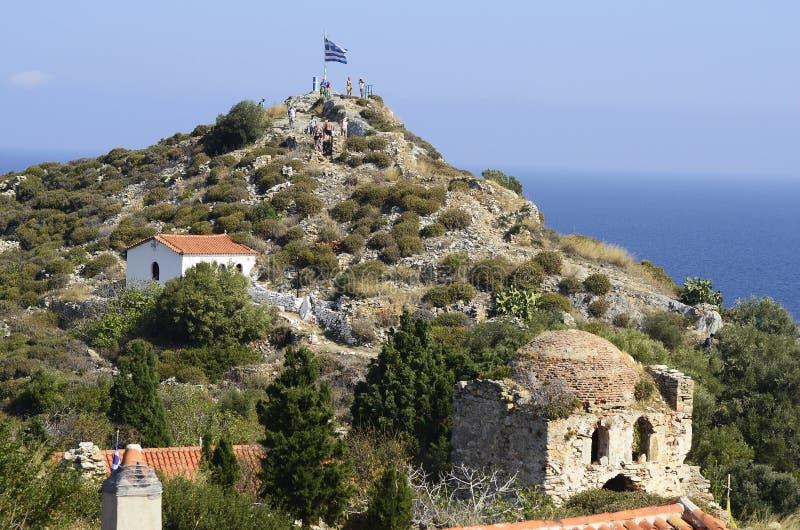 La Grèce, Skiathos photographie stock libre de droits