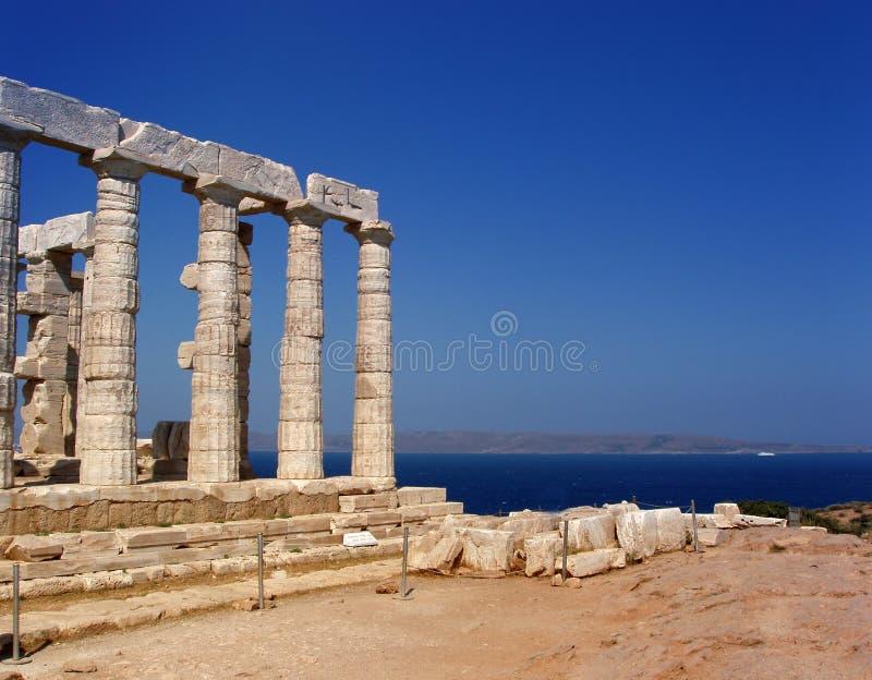 La Grèce, temple antique photographie stock