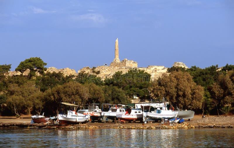 La Grèce vieille et nouvelle images stock