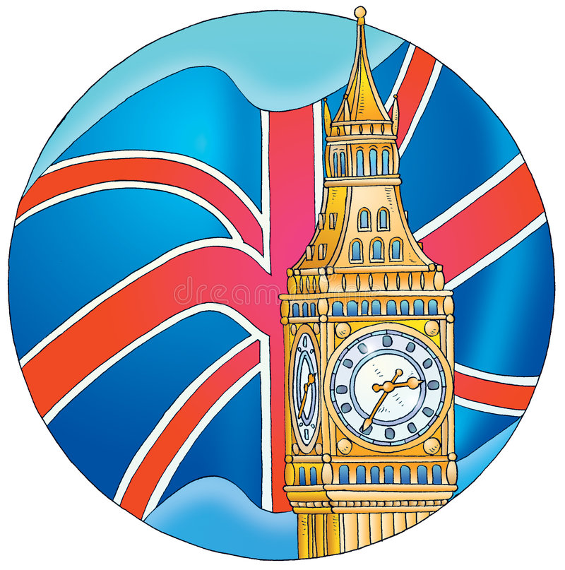 La Gran Bretagna illustrazione vettoriale