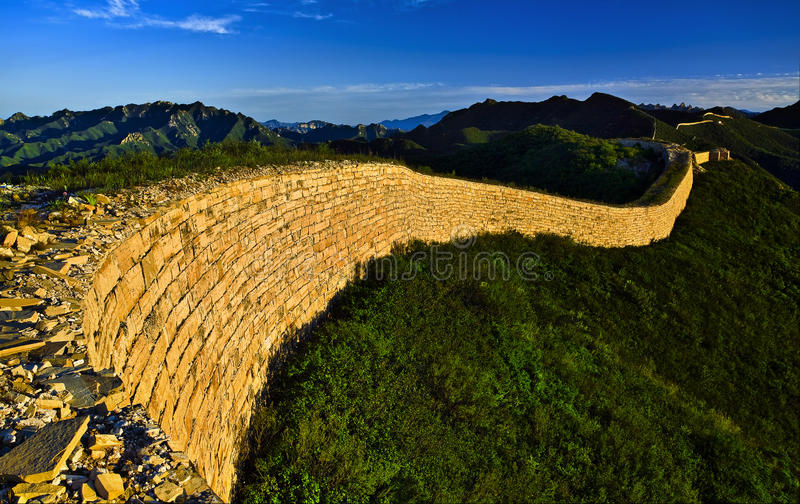 La Gran Muralla foto de archivo libre de regalías