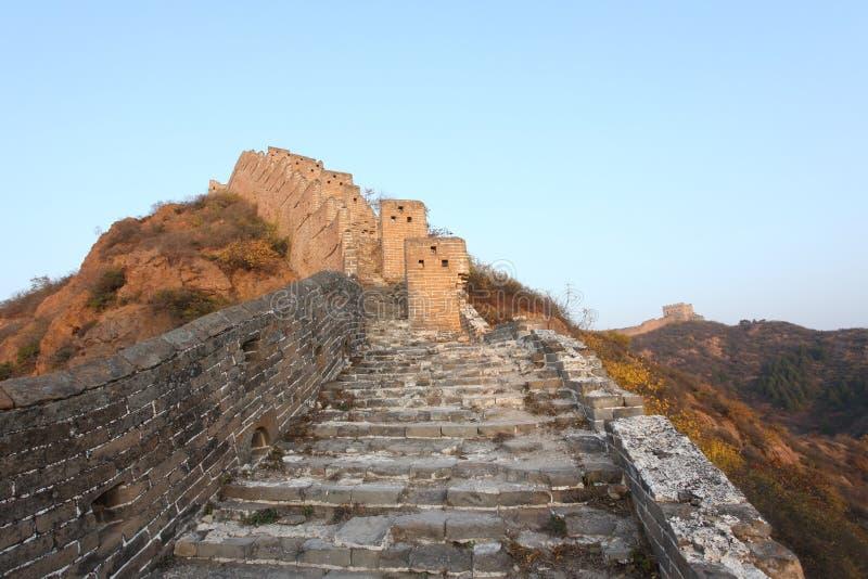 La Gran Muralla foto de archivo