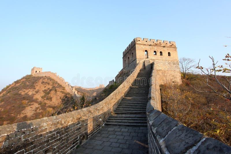La Gran Muralla fotos de archivo libres de regalías