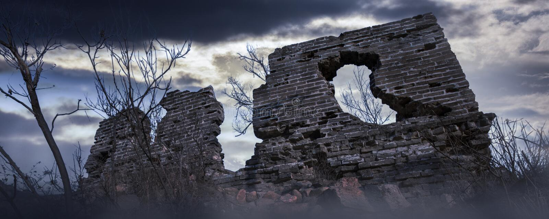 La Gran Muralla antigua foto de archivo libre de regalías