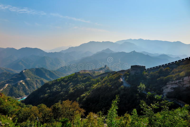 La Gran Muralla de China foto de archivo