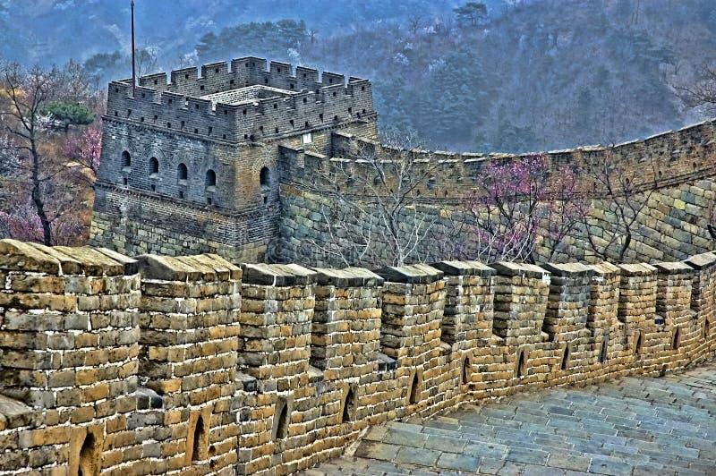 La Gran Muralla de China fotos de archivo libres de regalías