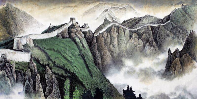 La Gran Muralla de China libre illustration