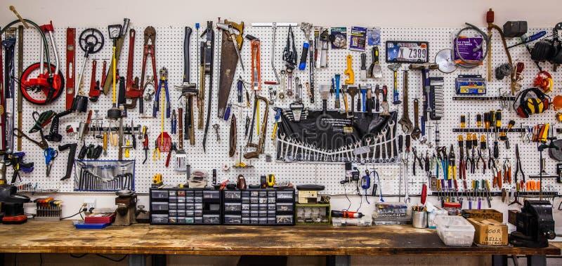 La Gran Muralla de herramientas foto de archivo libre de regalías
