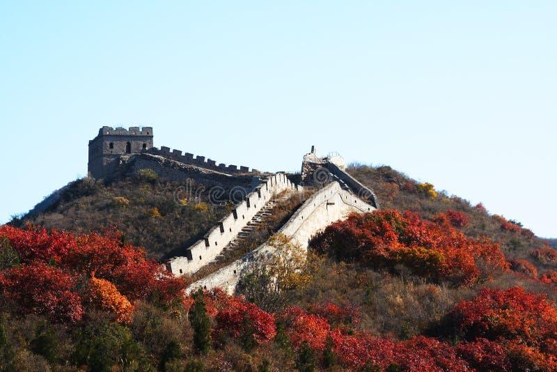 La Gran Muralla en China imágenes de archivo libres de regalías