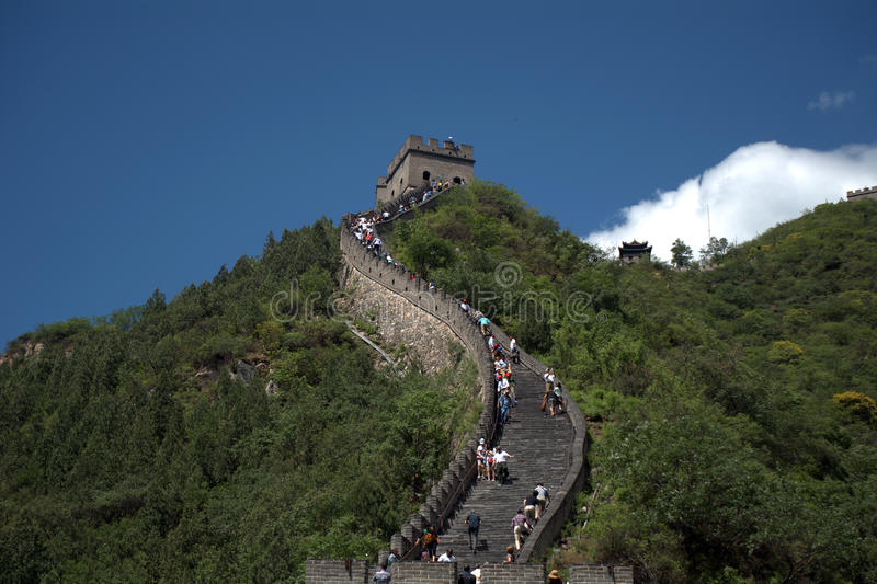 La Gran Muralla, Juyongguan, China imágenes de archivo libres de regalías