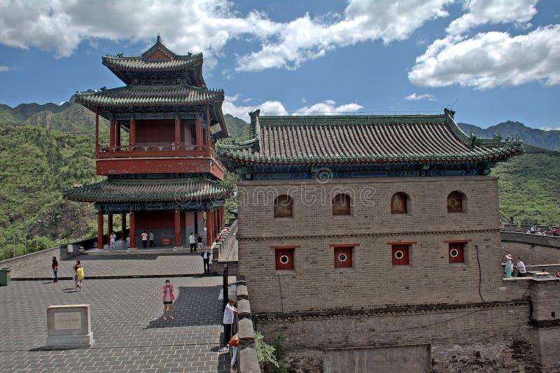 La Gran Muralla, Juyongguan, China fotos de archivo libres de regalías