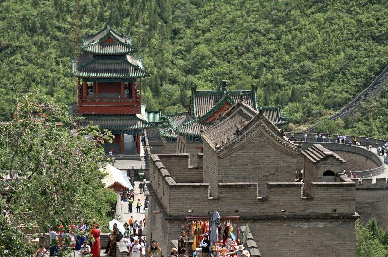 La Gran Muralla, Juyongguan, China foto de archivo libre de regalías