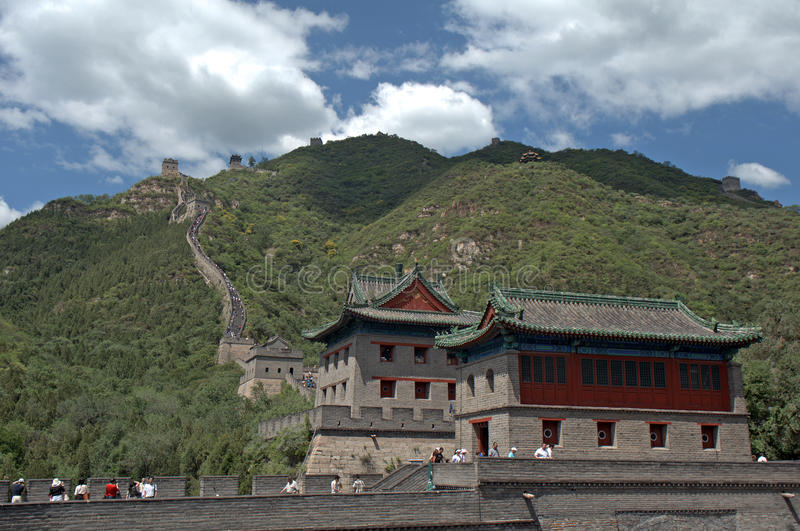 La Gran Muralla, Juyongguan, China fotos de archivo