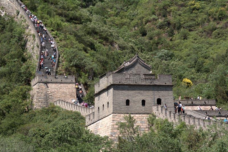 La Gran Muralla, Juyongguan, China imagen de archivo libre de regalías