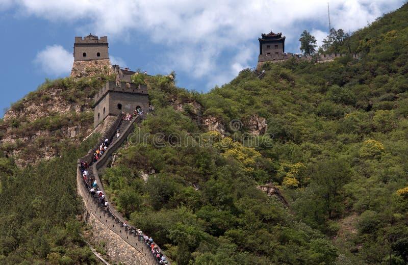 La Gran Muralla, Juyongguan, China foto de archivo