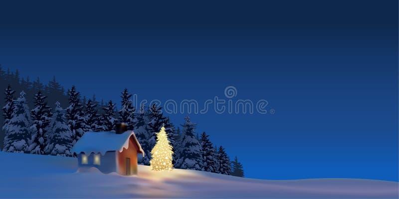 La gran Navidad ilustración del vector