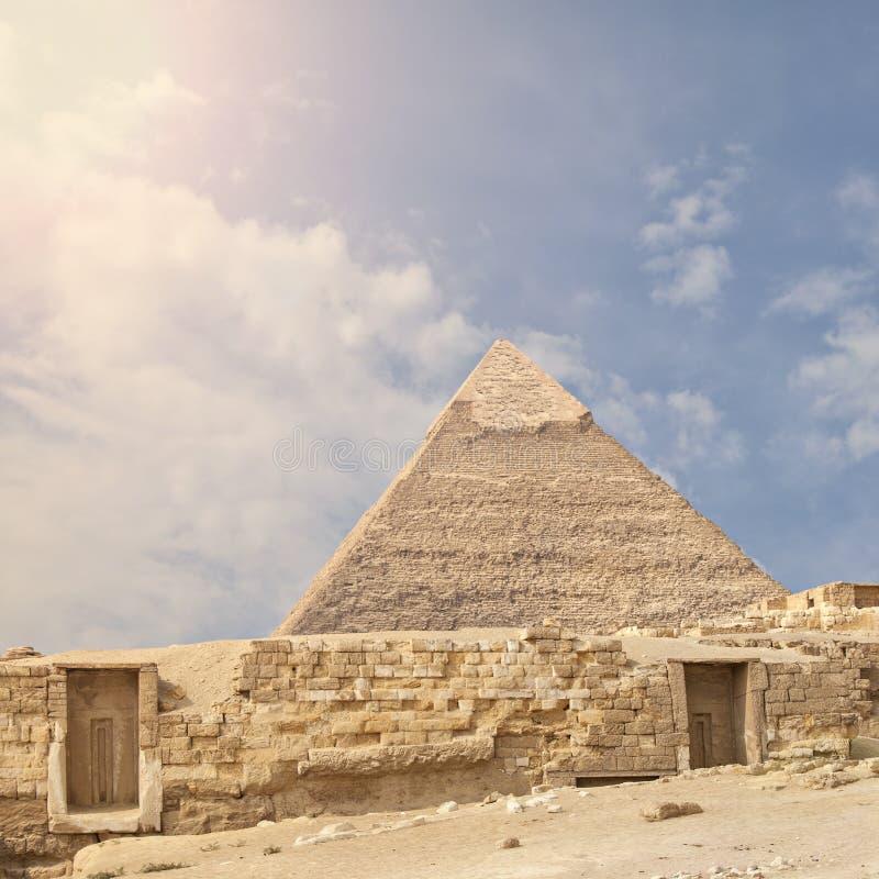 La gran pirámide fotos de archivo