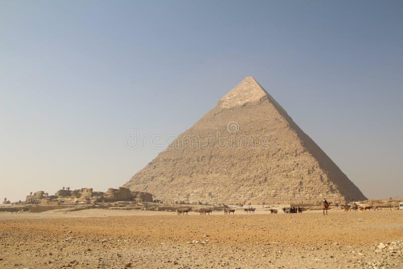 La gran pirámide foto de archivo libre de regalías