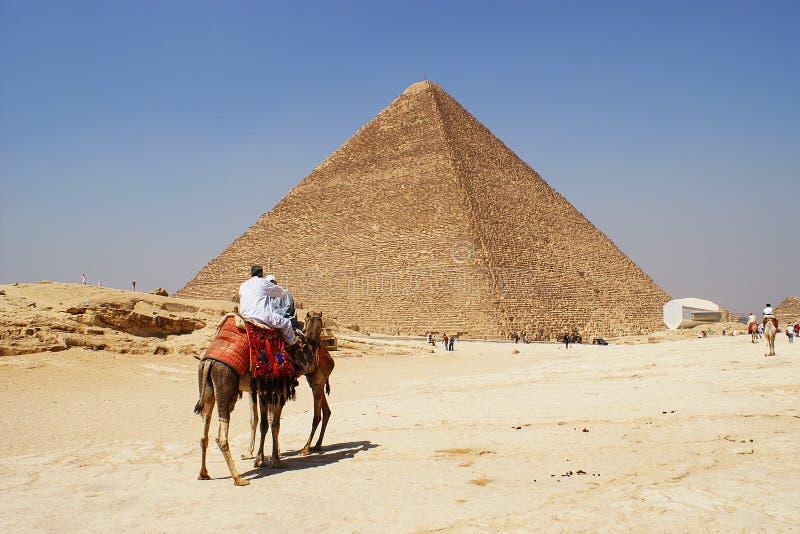 La gran pirámide de Giza, Eygpt foto de archivo