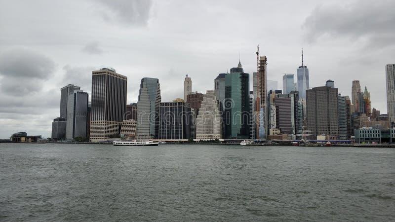 La gran vista de Manhattan foto de archivo libre de regalías
