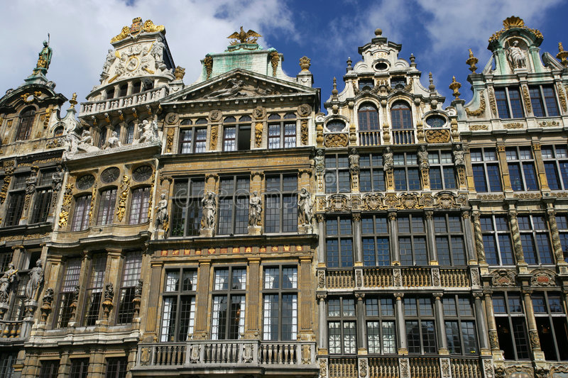 Download La Grand-Place in Brussels stock photo. Image of attraction - 817538