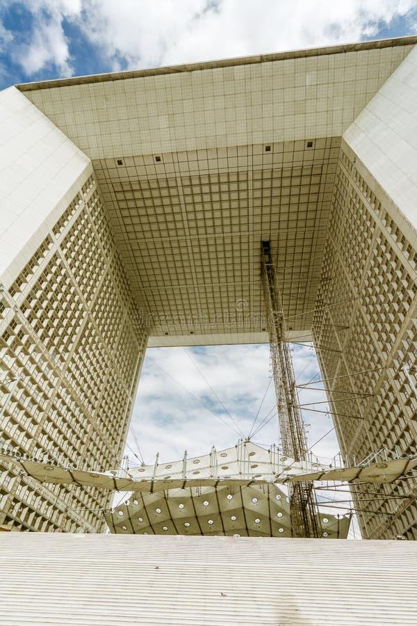 La Grande Arche de la Dfense lizenzfreie stockfotografie