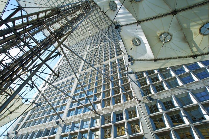 La Grande Arche La Defense Paris royalty free stock photos