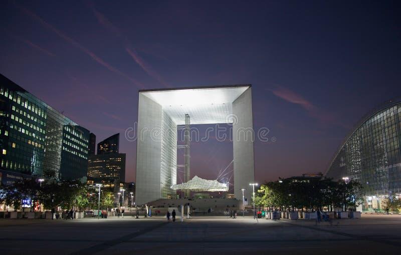Download La Grande Arche In La Defense In Paris At Sunset Editorial Stock Image - Image: 22200859