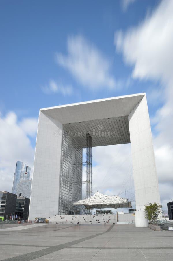 La Grande Arche, Paris lizenzfreies stockfoto