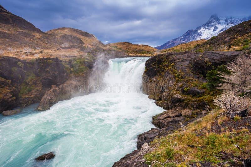 La grande cascada de Salto imagen de archivo