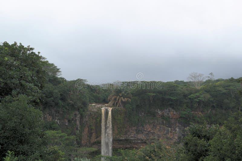 La grande cascade de tamarinier photo stock