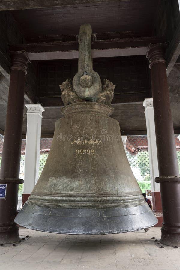 La grande cloche du mingun photographie stock