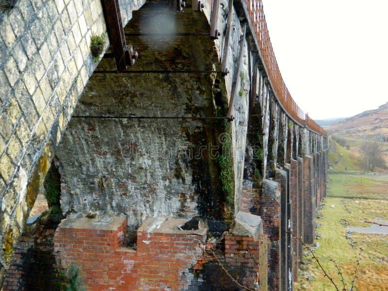 La grande eau du viaduc de flotte, Galloway image libre de droits